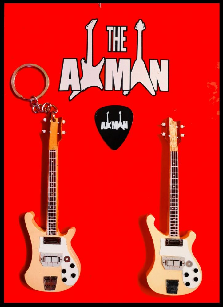 (Yes) Chris Squire - Rickenbacker 4001CS: Keyring & Magnet Variation (UK Seller)